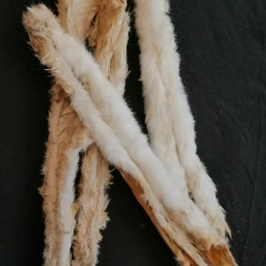 Extra Long Rabbit Pelt | Friends and Canines
