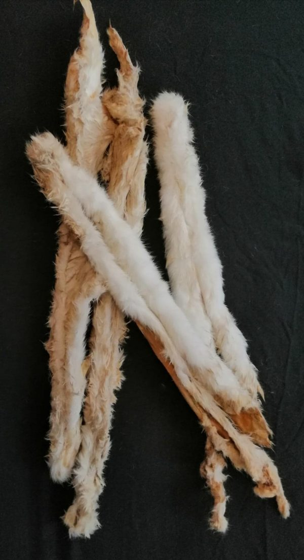 Extra Long Rabbit Pelt   Friends and Canines