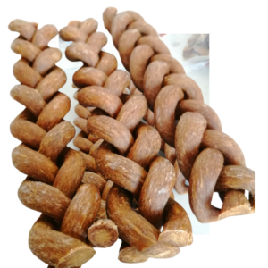 Braided Bull Pizzle Dog Treat