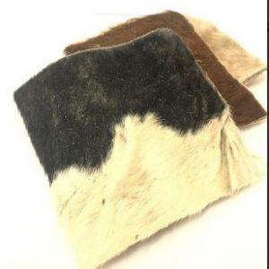 Hairy Cow Skin Dog Chew