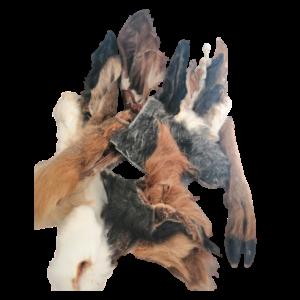Furry Dog Treat Selection