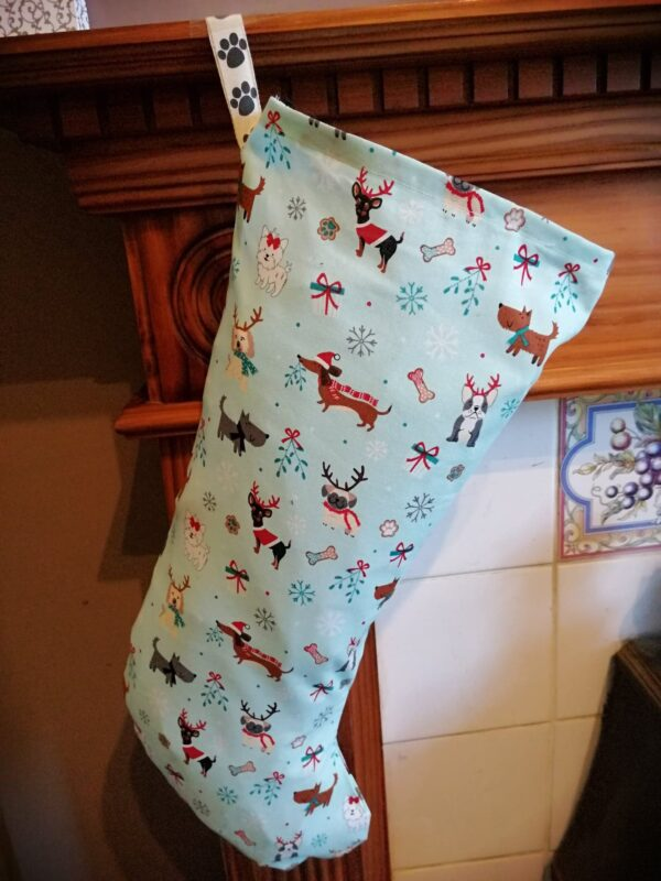 Christmas Stocking - Mixed dogs ice cool